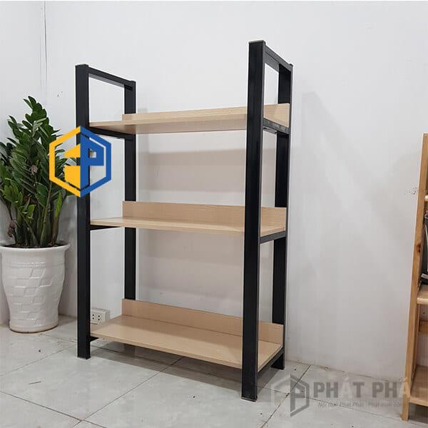 Giá sắt gỗ SG03