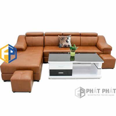 Sofa Da Cao Cấp SFC05