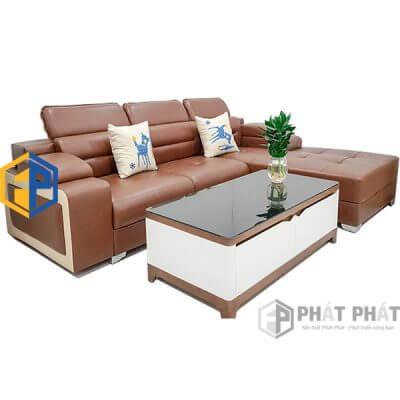 Sofa Da Cao Cấp SFC06