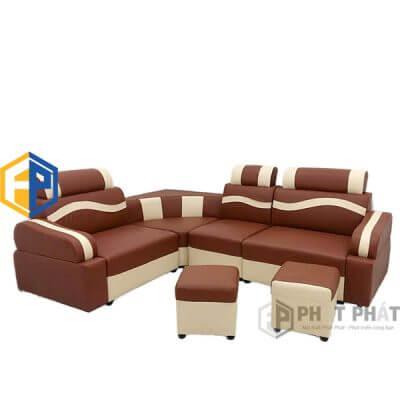 Sofa Góc Da SFG05