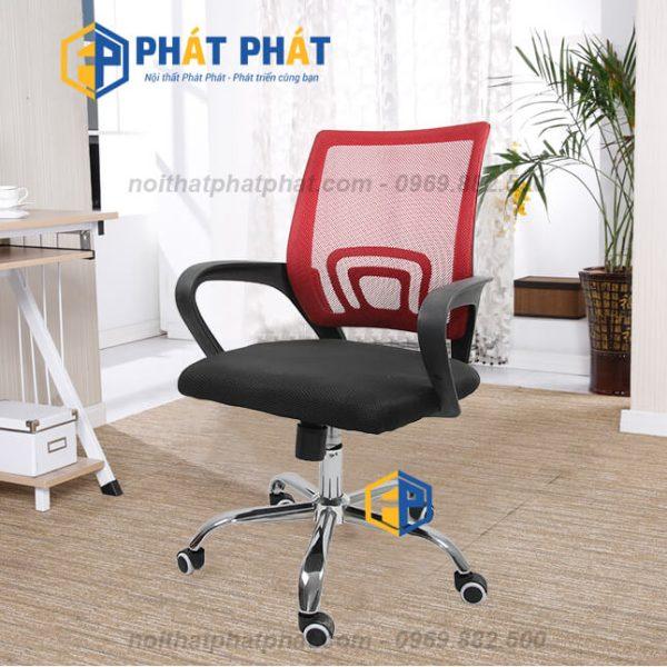 Địa chỉ bán ghế xoay văn phòng tại Hà Nội dành cho nhân viên - Ghế Xoay Lưới GL113D