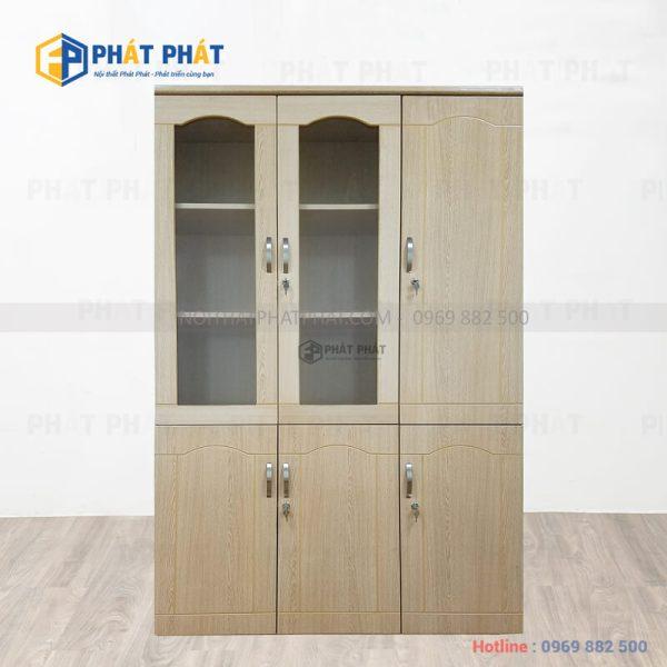 TOP 5 mẫu tủ tài liệu gỗ có thiết kế hiện đại của Phát Phát - 1