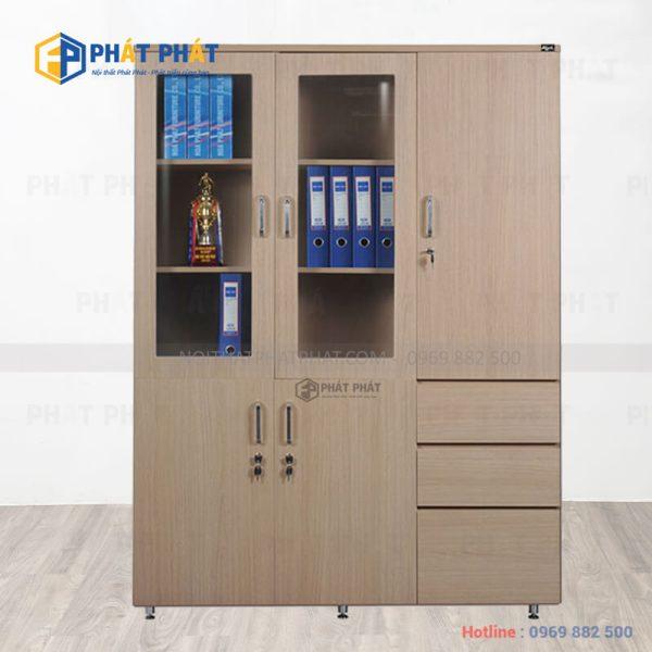 TOP 5 mẫu tủ tài liệu gỗ có thiết kế hiện đại của Phát Phát - 3