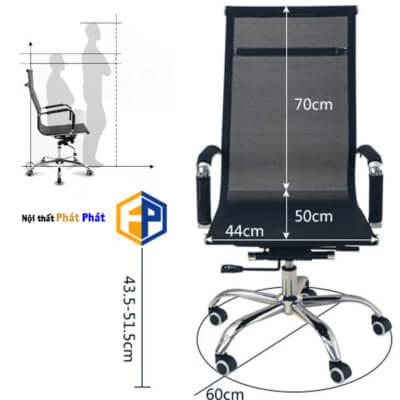 Ghế xoay lưng cao giá rẻ, đẹp và chất lượng cao - 1