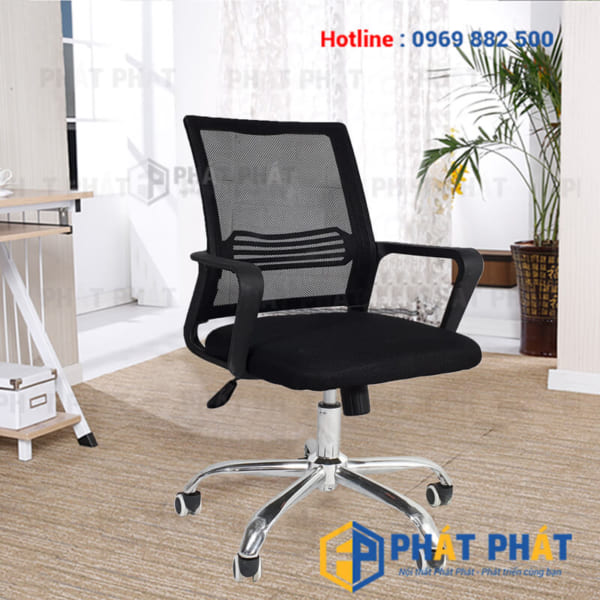 Địa chỉ cung cấp ghế xoay nhân viên giá rẻ tại Hà Nội -1
