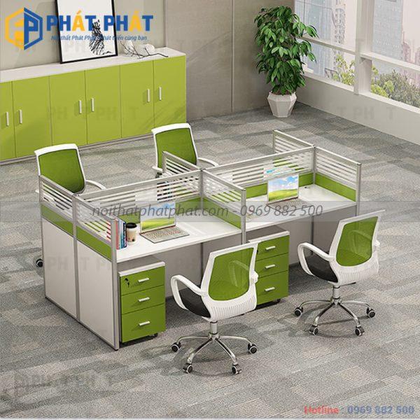 Ưu thế vượt trội của những mẫu bàn văn phòng có vách ngăn - 3