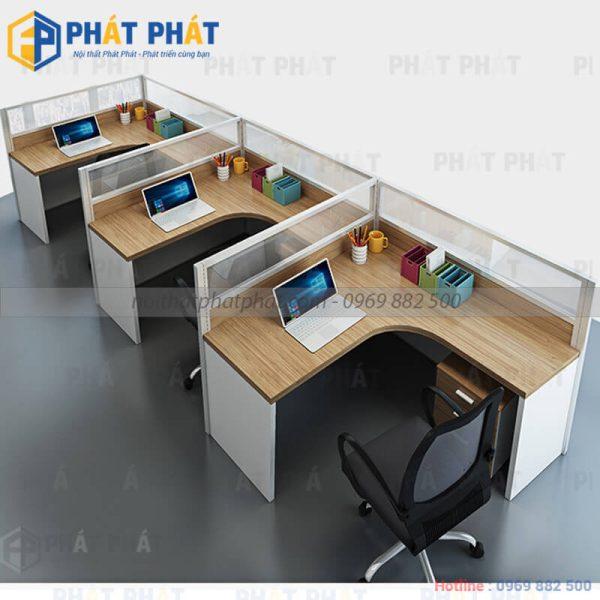 Một số lưu ý khi lựa chọn mẫu bàn văn phòng có vách ngăn