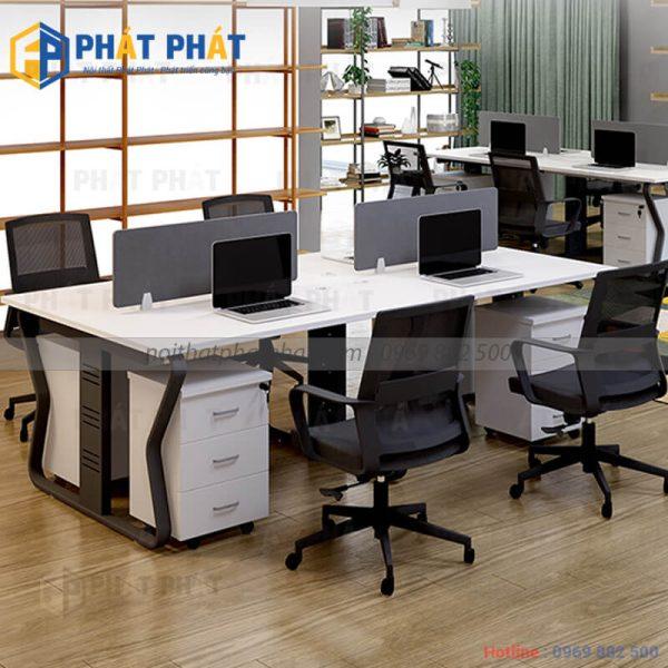 Ưu thế vượt trội của những mẫu bàn văn phòng có vách ngăn - 2