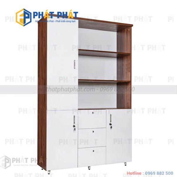 TOP 5 mẫu tủ tài liệu gỗ có thiết kế hiện đại của Phát Phát - 4