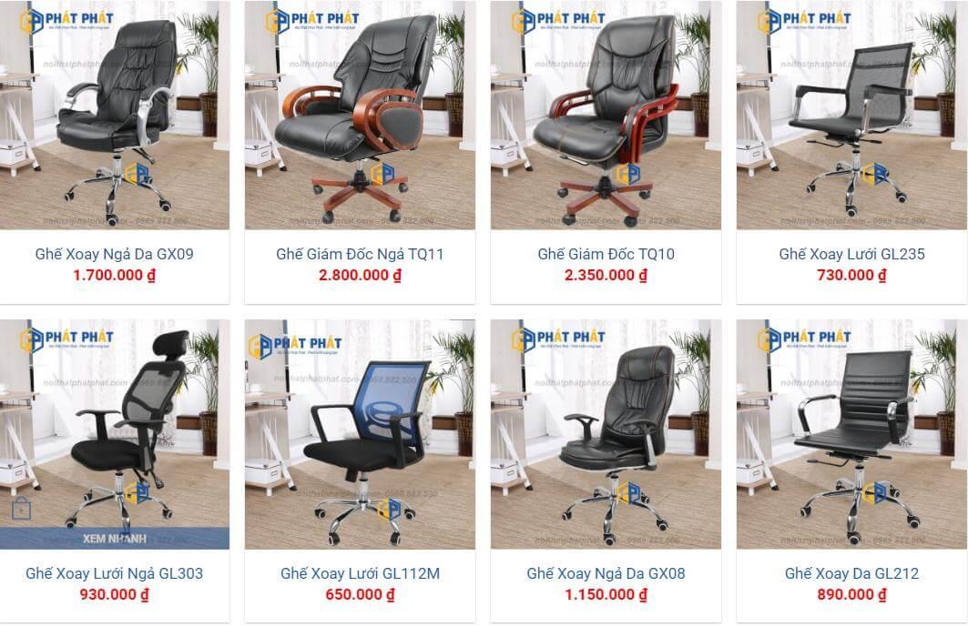 Ghế xoay 360 độ chất lượng với giá chỉ 550.000 đồng tại Phát Phát - 2