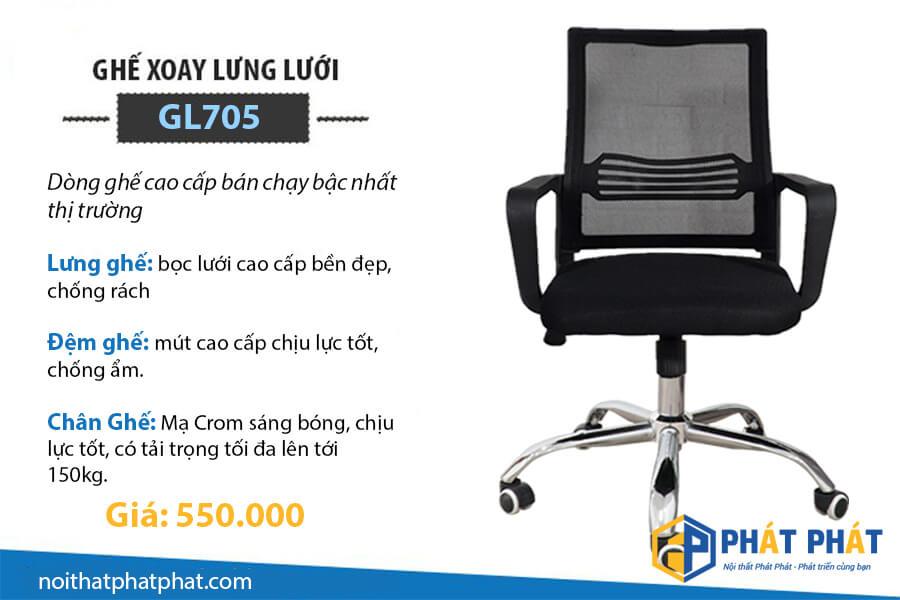 Ghế xoay 360 độ chất lượng với giá chỉ 550.000 đồng tại Phát Phát - 3