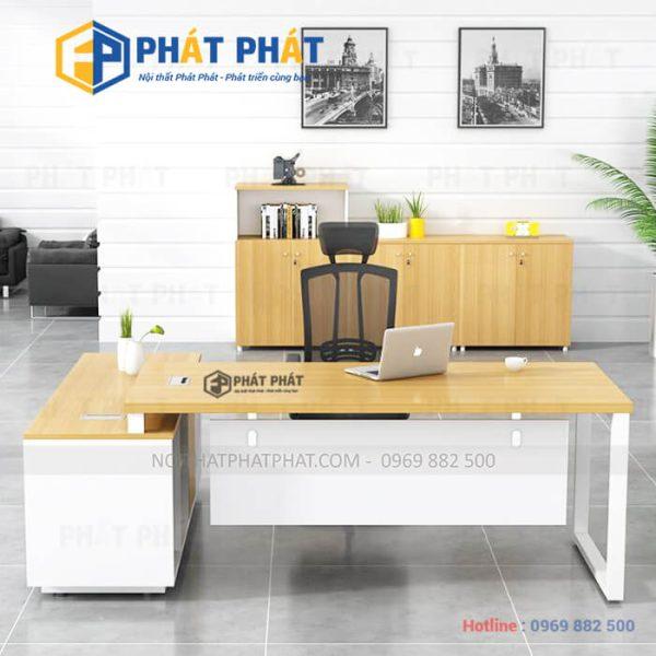 Những mẫu bàn làm việc đẹp không thể bỏ qua tại Phát Phát - 1