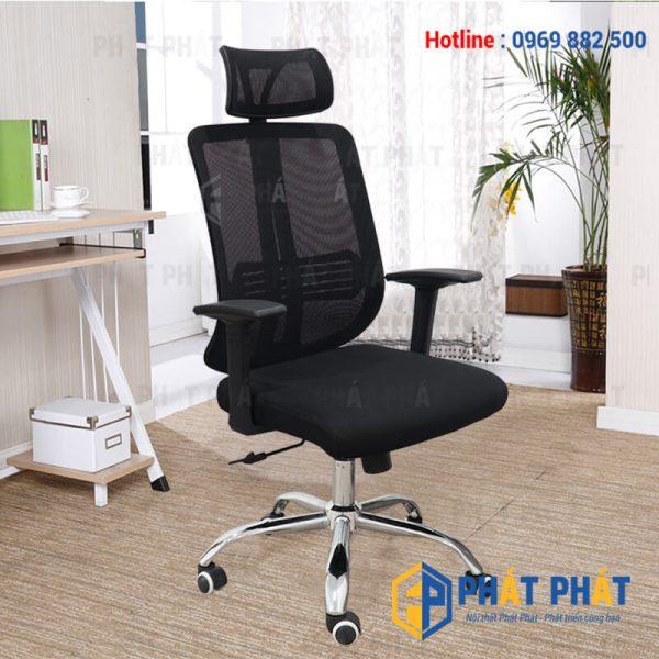 Địa chỉ bán ghế xoay văn phòng tại Hà Nội dành cho nhân viên - 1