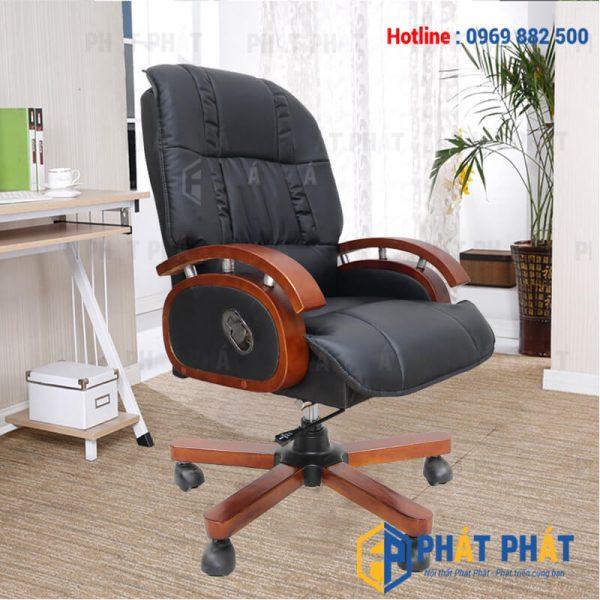 Một số mẫu ghế xoay da cao cấp có thiết kế hiện đại nhất hiện nay