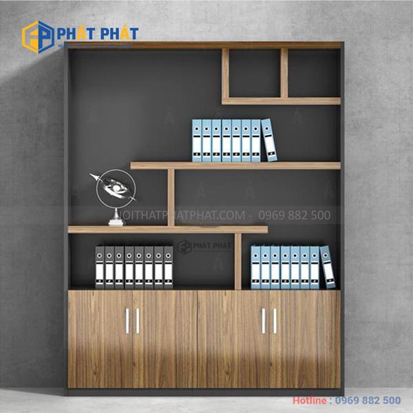 TOP 5 mẫu tủ tài liệu gỗ có thiết kế hiện đại của Phát Phát